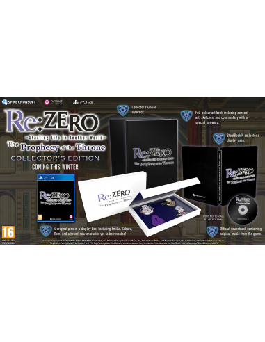4976-PS4 - Re:ZERO - The Prophecy of the Throne Limited-5056280423362