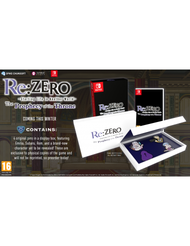 4974-Switch - Re:ZERO - The Prophecy of the Throne-5056280423249
