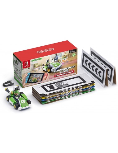 4966-Switch - Mario Kart Live: Home Circuit + Coche Luigi-0045496426279