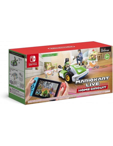 -4966-Switch - Mario Kart Live: Home Circuit + Coche Luigi-0045496426279