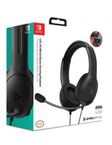 4998-Switch - LVL40 Wired Negro Auricular Gaming Licenciado-0708056067762