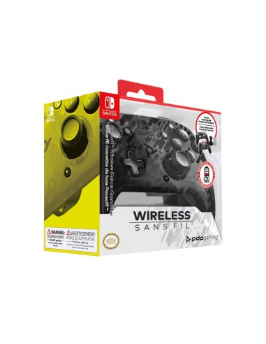 4994-Switch - Faceoff Wireless Deluxe Controller BK Camo Switch/Lite-0708056067526