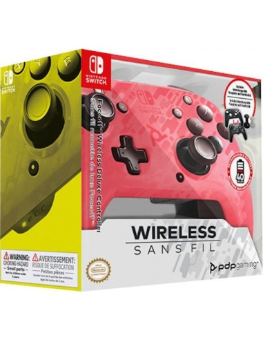 4997-Switch - Faceoff Wireless Deluxe Controller PK Camo Switch/Lite-0708056067236