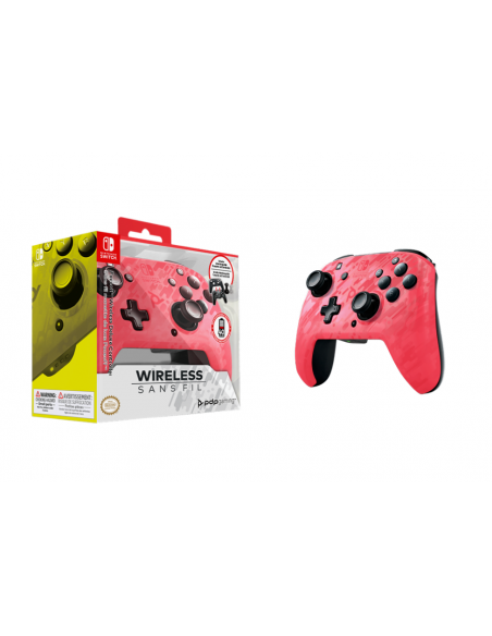 -4997-Switch - Faceoff Wireless Deluxe Controller PK Camo Switch/Lite-0708056067236