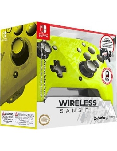 4995-Switch - Faceoff Wireless Deluxe Controller YL Camo Switch/Lite-0708056067502