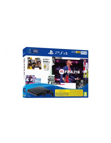 5107-PS4 - PS4 Consola 500GB + FIFA 21-0711719827825