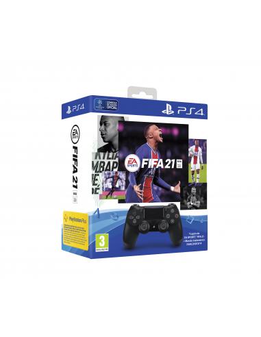 5106-PS4 - Mando DualShock 4 + FIFA 21 + PSN Plus 14 dias-0711719833826