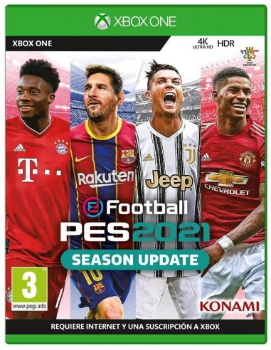 4657-Xbox One - Pro Evolution Soccer PES 21 Season Update-4012927113189
