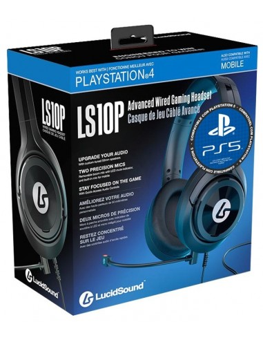 5128-PS4 - Auriculares LucidSound LS10P Wired Gaming Headset  (Multi)-0852888006380