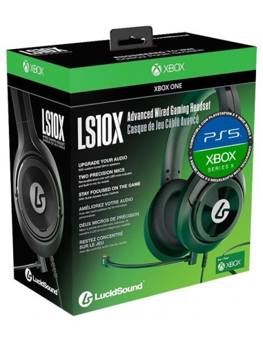 5127-Xbox One - Auriculares LucidSound LS10X Wired Gaming Headset-0852888006397