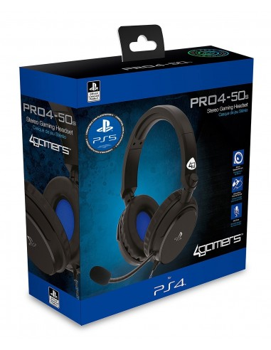 5135-PS4 - PRO4-50S Negro Gaming Stereo -  Licensed PS4/5-5055269710691