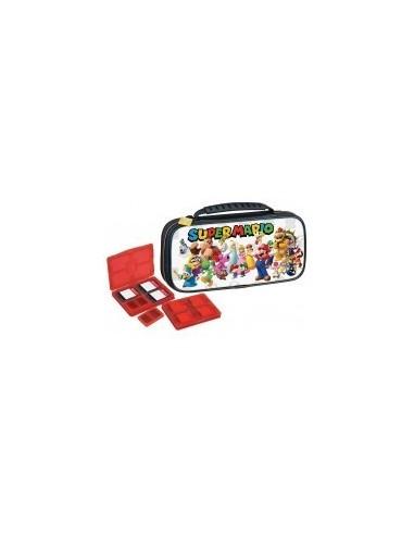 5160-Switch - Funda Deluxe Travel Case NNS53B - SuperMario-8431305029649
