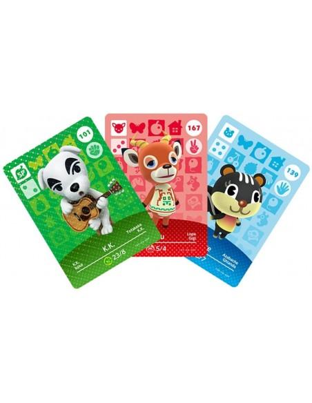 -5156-Amiibos - Pack 3 Tarjetas amiibo Animal Crossing Serie 2-0045496353322