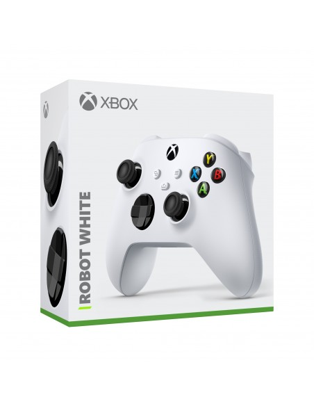 -5167-Xbox Series X - Mando Wireless Robot White (Xbox - PC)-0889842611564