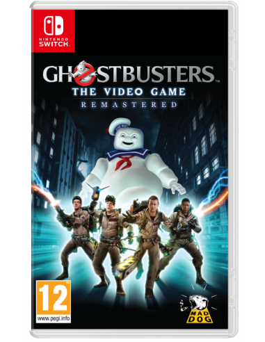 5181-Switch - Ghostbusters The Videogame Remastered (Code in Box)-0745760036547