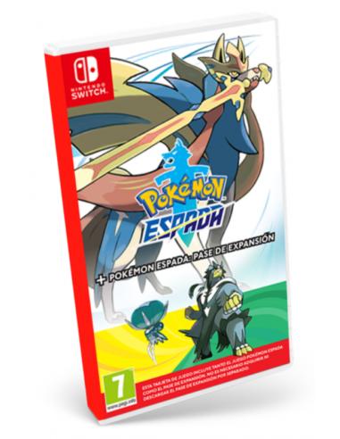 5124-Switch - Pokémon Espada + Expansion Pass-0045496426828