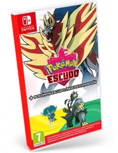 Switch - Pokémon Escudo +...