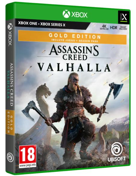 -4266-Xbox Smart Delivery - Assassin's Creed Valhalla Edición Gold-3307216167723