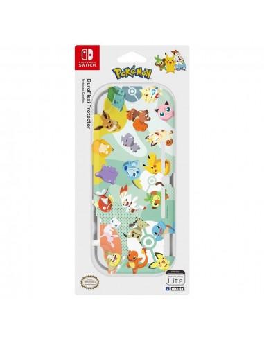 5240-Switch - Carcasa Hori Duraflexi Pikachu & Friends-0810050910064