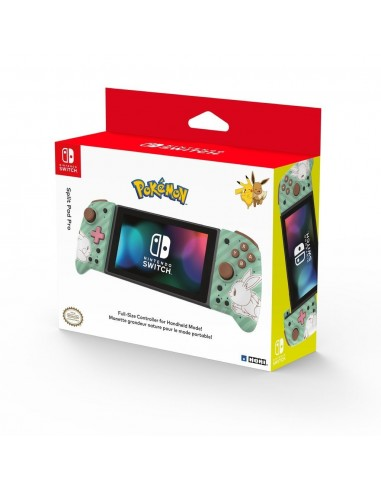 5237-Switch - Mando Hori Split Pad Pro Pikachu Black & Gold-0810050910057