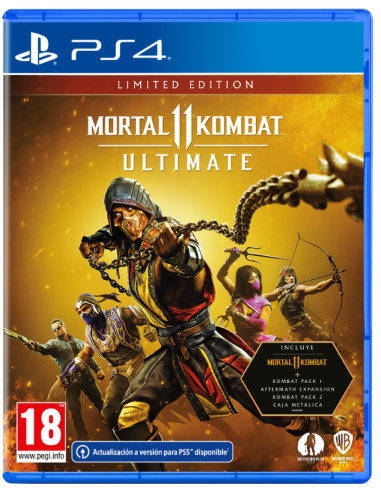 5254-PS4 - Mortal Kombat 11 Ultimate-5051893241433