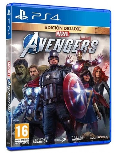 3990-PS4 - Marvel's Avengers Deluxe Edition-5021290084971