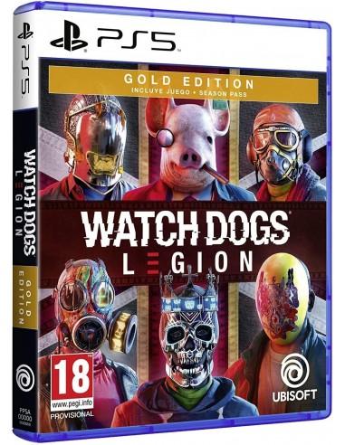 4871-PS5 - Watch Dogs Legion Edicion Gold-3307216174943