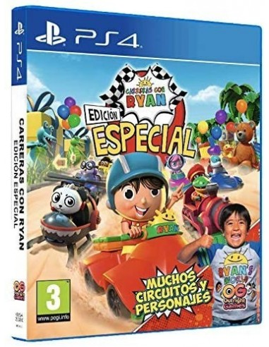 5205-PS4 - Carreras con Ryan Edición Especial-5060528034173