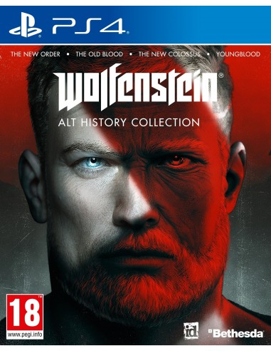 5280-PS4 - Wolfenstein Alt History Collection-5055856428107