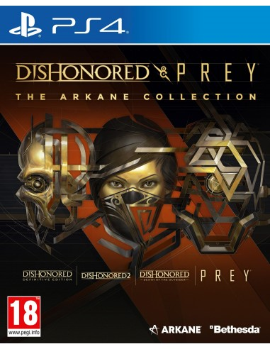 5277-PS4 - Dishonored & Prey The Arkane Collection-5055856427957