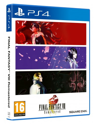 5287-PS4 - Final Fantasy VIII Remastered-5021290087910