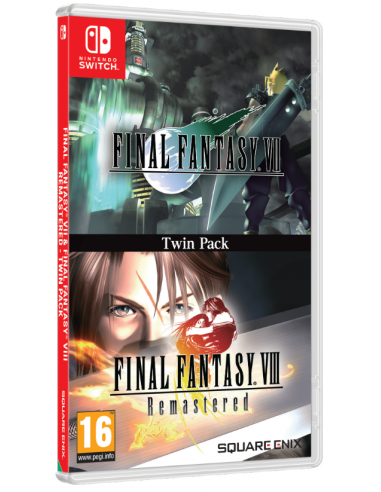 5286-Switch - Final Fantasy VII + VIII Remastered - Twin Pack-5021290087859