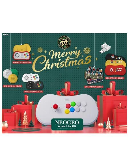 -5312-Retro - NeoGeo Arcade Stick Pro XMas Edition-4964808153008