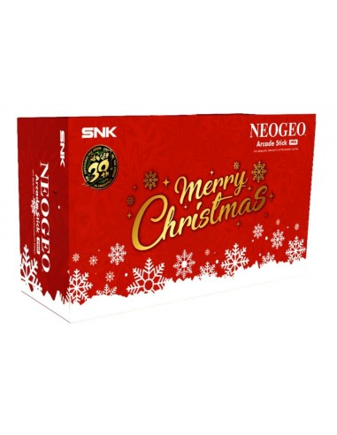 5312-Retro - NeoGeo Arcade Stick Pro XMas Edition-4964808153008