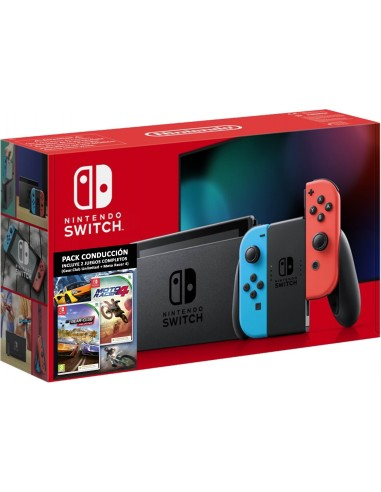5319-Switch - Nintendo Switch Consola Pack Moto Racer 4 & Gear Club Unlimi-0045496779627