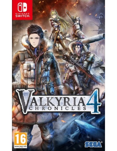 5381-Switch - Valkyria Chronicles 4 (Code in Box)-5055277041732