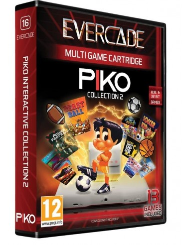 5337-Retro - Cartucho Evercade Piko Collection 2-5060690792079