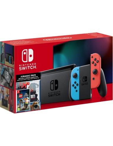 5515-Switch - Nintendo Switch Consola Neon + LEGO Jurassic + 1971 Project-7145496452629