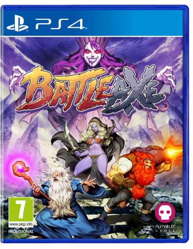 5668-PS4 - Battle Axe with Pin Badges Set-5056280417279