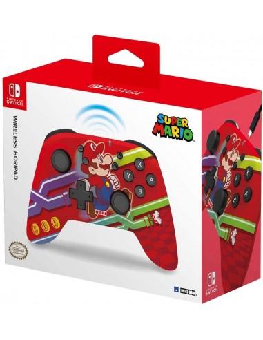 5720-Switch - Mando Horipad Wireless Mario -0810050910286