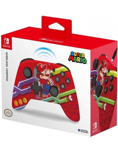 -5720-Switch - Mando Horipad Wireless Mario -0810050910286